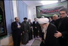 دیدار دکتر حمید میرزاده، ریاست دانشگاه آزاد اسلامی با حضرت آیت الله العظمی صافی گلپایگانی