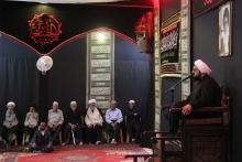 گزارش تصویری: مجلس عزاداری شهادت امام سجاد علیهالسلام در دفتر آیتالله العظمی صافی گلپایگانی