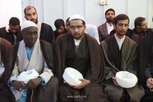 گزارش تصویری: عمامهگذاری طلاب توسط مرجع عالیقدر حضرت آیت الله العظمی صافی گلپایگانی - ۱۷ ربیع الاول 1441