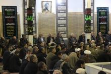 گزارش تصویری: گردهمایی مسئولین و مداحان هیئات مذهبی قم در دفتر مرجع عالیقدر حضرت آیت الله العظمی صافی گلپایگانی