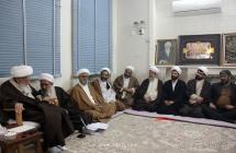 مدیران ستاد هماهنگی فعالیتهای مهدوی کشور  در دیدار با حضرت آیت الله العظمی صافی گلپایگانی