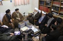گزارش تصویری: اعضای ستاد بزرگداشت مرحوم آیتالله آقا سید محدباقر دُرچهای (ره)