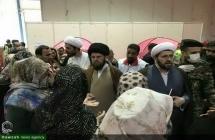گزارش تصویری : بازدید هیئت اعزامی از سوی دفتر حضرت آیت الله العظمی صافی گلپایگانی از مناطق سیل زده استانهای گلستان و مازندران