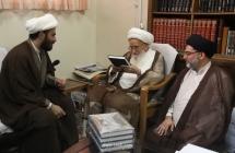 """گزارش تصویری: رونمایی از کتاب ارزشمند """"النهضه الحسینیه و علم الامام علیه السلام"""""""